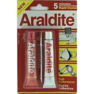 ARALDITE 5 Minutes Rapid Crystal High Performance Expoxy Adhesive