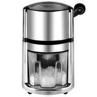 Ice Blender Ice Maker Smoothie Machine Ice Scraper Commercial Household Manual Control Small Cold Drink Milk Tea Bar