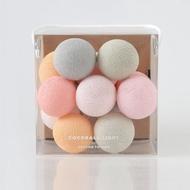 Mini Cocoball LED氣氛棉球燈串  - romance