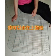 【IN STOCK】 Parcel post densified thickened galvanized iron wire cage chicken cage pigeon cage rabbit cage bird cage transport cage breeding cage small chicken cage ☄