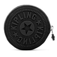 KIPLING 拉鍊零錢包-黑 (現貨+預購)黑色