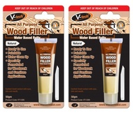 {Bundle of 2}V-TECH All Purpose Wood filler Water Based Putty 50g(Natural)