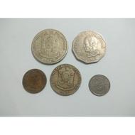 [Set#1] 5pcs Philippine Coin Set (Uncleaned)Necklace
