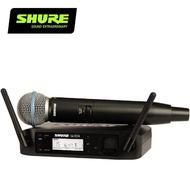【SHURE】GLXD24 / BETA58 人聲麥克風數位無線系統(原廠公司貨)
