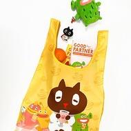 Sunny Bag x Kuroro環保摺疊購物袋-春遊野餐款