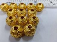 เม็ดทอง99.99%ไซส์12มิล น้ำหนักทองต่อ1เม็ด0.95-1.0กรัม ราคาต่อ1เม็ด
