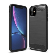 Redmi Note8/7/6 iPhone11 X 8 7 6 Realme 2/3/5 Galaxy S10 Note10/9/8 Luxury Carbon Fiber wiredrawing Military TPU Shockproof Case Bumper