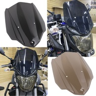 For YAMAHA MT 03 MT03 accessories ABS Windshield WindScreen with Mounting Bracket For YAMAHA MT-03 2016 2017 2018 2019 Smoke New