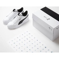 【READY STOCK  x BTS Court Star Sneakers FREE BTS PHOTOCARD small white shoes