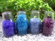 ╭☆雨過天青☆╮ 五彩繽紛寶藍 青藍 水藍琉璃 雨花石 卵石 抿石子 花砵 大特價! 全省批發零售