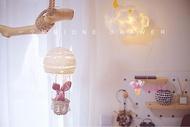吊飾 少女心熱氣球許愿燈小夜燈diy材料包創意掛飾
