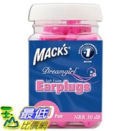 [美國直購] Mack's Mac-6307 Ear Care Dreamgirl Soft Foam Earplugs, 50 Count 耳塞 _T01