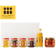 BEE my HONEY GIFT BOX L-2(鹽蜂蜜、胡椒蜂蜜、香草蜂蜜、肉桂蜂蜜、醋、大人的檸檬水) Lifetech foods and cosme