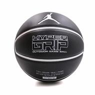 【NIKE 耐吉】籃球 Jordan Hyper Grip 4P 喬丹 飛人 室內外球場 7號標準球 黑 白(J000184409-207)