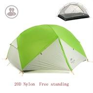 +พร้อมส่ง+ Naturehike Mongar 2 20D tent 3 season เต็นท์ 3 ฤดู สำหรับ 2 คน น้ำหนักเบา เหมาะกับ Outdoo