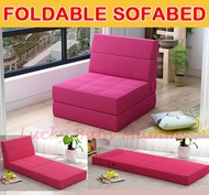 Foldable Sofabed / Foldable Sofa / Foldable Mattress/Lazy/Folding/Bed