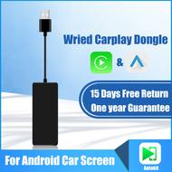 สำหรับApple Carplay Android Auto Dongle UsbสำหรับAndroidทีวีBox Mirror Link Airplay Carplay Smart Link IOS14แผนที่