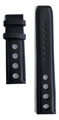 (Tissot) Tissot Men s PRS 516 Black Leather 20mm Band Strap for T100417A, T100428A, T100430A-