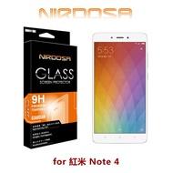 【愛瘋潮】99免運 NIRDOSA 紅米 Note 4 9H 0.26mm 鋼化玻璃 螢幕保護貼(非滿版)