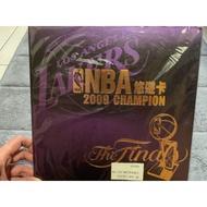 全新未拆封   2009 NBA湖人總冠軍紀念悠遊卡 全套5 張入+ MVP1張 Kobe