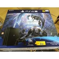 PS4 Pro主機 魔物獵人 世界:Iceborne 同捆組『永和比漾廣場自取』