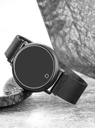 智慧手錶男測智慧運動手環女情侶圓形彩屏運動手錶防水適用於oppovivo