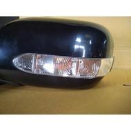 WR汽車零件~TOYOTA VIOS 06-12 電動電折有燈一體成型 後視鏡 照後鏡