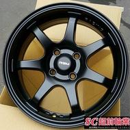 【超前輪業】全新鋁圈 新款式 RSM 789 15吋鋁圈 4孔100 平光黑 I10 NARCH K8 K6
