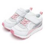 < MOONSTAR>MSCN系列-寬楦機能童鞋-粉