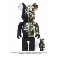 (在台現貨)BAPE Neighborhood Be@rbrick bearbrick 400%+100% ape