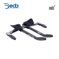 DEDA ELEMENTI AERO BAR BASE BAR+CLIP-ON+PAD+EXTENSION KRONOS - black 42cm E-E | KRONOS