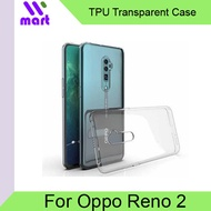 TPU Transparent Soft Case for Oppo Reno 2