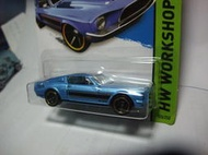 Hotwheels 風火輪 2015年NO.226 FORD '68 SHELBY GT500 野馬~TOMICA可看