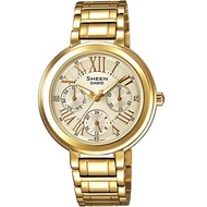 Casio นาฬิกาผู้หญิง สายสแตนเลส รุ่น SHE-3034GD-9A - Gold
