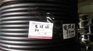 足80平方 足米電焊線 大東牌一級電線廠 電焊機專用線 電線 電纜線 長度可裁