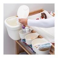 IKEA ÖNSKLIG 尿布更換桌儲物籃 4件組