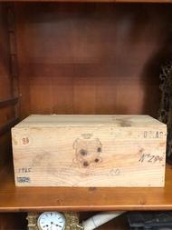 1978年 五大酒莊 老酒用 老木箱