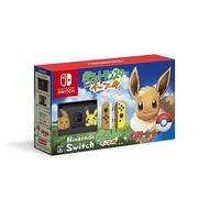任天堂 精靈寶可夢 限定同捆組 Nintendo Switch 限定機 神奇寶貝 伊布 日本 日本代購