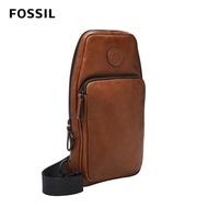 【FOSSIL】618年中慶★Sport 單肩斜背包-棕色 MBG9529210
