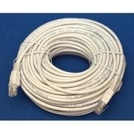 R-driver CAT5E 網路線-30M(白) RLNE-C5E30WH加碼黑米充電線2選1