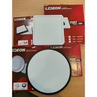 "LEDEON  Y1056 Y1057 LED 6500K SURFACE DOWNLIGHT ENERGY SAVING 18W/7.5"", 25W/10.5"" SQUARE @ ROUND (DAYLIGHT - 6500K)"