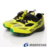 ★日本月星Moonstar機能童鞋閃電競速衝刺系列寬楦防水防滑運動鞋款8927黃(中大童段)