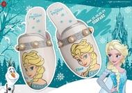 รองเท้าคัชชูเด็กผู้หญิง แบบสวม เปิดส้น ลาย Frozen ลิขสิทธิ์แท้ เบอร์23-28(1คู่)