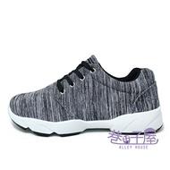 JIMMY POLO 男款坑條運動休閒鞋 [18083] 灰 MIT台灣製造【巷子屋】