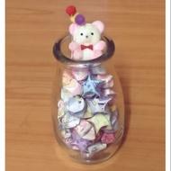甜點玻璃瓶 烘培用模具 點心玻璃瓶 奶酪罐 星星罐 小花瓶