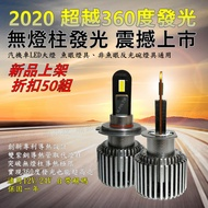 新無燈柱發光 LED大燈 H1 D2H D2S D4S D1S D3S 大燈 燈泡 燈管 HID 魚眼 彪虎 BWSR