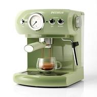 กึ่งเครื่องทำกาแฟอัตโนมัติเครื่องเอสเพรสโซไอน้ำฟองนมเครื่องเครื่องชงกาแฟแบบพกพากาแฟเอสเปรสโซ่ Maker
