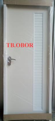 Pintu Kamar Mandi PVC Aluminium Handle Kunci JUMBO