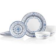 Corelle Chip Resistant Dinnerware Set, Portofino