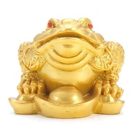 Feng Shui Money fortune Wealth Oriental Chinese Frog Toad Home Decor U5W4